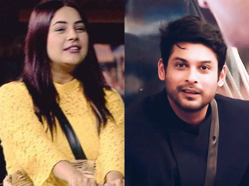 BiggBoss- Shehnaaz Gill And Sidharth Shukla