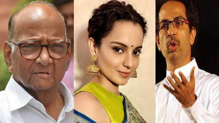 Sharad Pawar not happy with BMC act against Kangna Ranaut